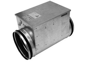 Канальные электронагреватели для круглых воздуховодов PBEC
