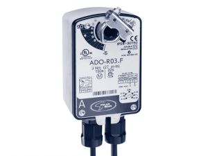 Приводы Polar Bear ADO-R03.F(S), ASO-R03.F(S), ADM-R03.F(S) с моментом вращения 3 Нм с функцией Safety