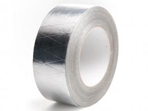 Алюминиевая (фольгированная) армированная клейкая лента