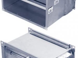 Устройства для измерения и регулирования расхода воздуха МФП и МРП, для прямоугольных каналов