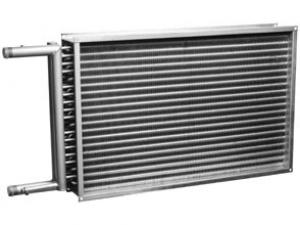 Канальные водяные нагреватели для прямоугольных воздуховодов PBAS