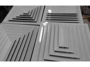 Вентиляционная потолочная решетка РЭД-2ПР