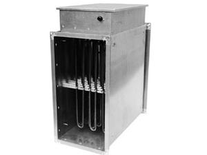 Канальные электронагреватели для прямоугольных воздуховодов PBER
