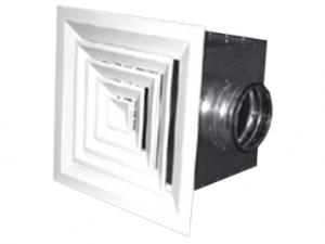 Потолочные диффузоры АПН, АПР, 4АПН-П, 4АПР-П, 4АПН-С, 4АПР-С с камерами статического давления
