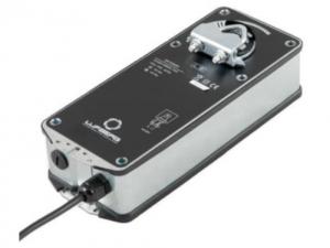 Электропривод для регулируемого клапана с возвратной пружиной