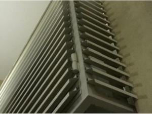 Решетка вентиляционная разборная наружная РЭД-80-60
