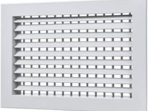 Вентиляционная решетка металлическая регулируемая РЭД-Р2-КРВ