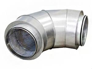 Угловой шумоглушитель CSU