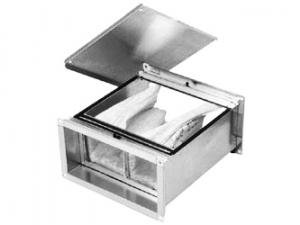 Фильтры для прямоугольных воздуховодов ФЛР