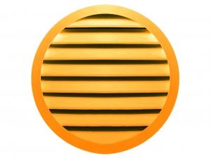 Наружная круглая решетка Airo-N RAL1028
