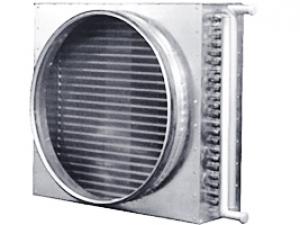Канальные водяные нагреватели для круглых воздуховодов PBAHC