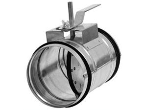 Клапан для круглых воздуховодов КВК