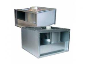 Вентиляторы для прямоугольных воздуховодов KT