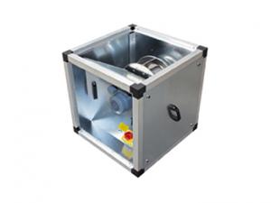 Вентиляторы для прямоугольных и квадратных воздуховодов MUB/T EC