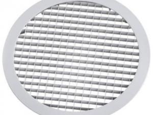 Круглая металлическая решетка сотовая РЭД-КР2-СОТ