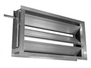 Воздушный клапан с площадкой под привод РЭД-КВАЛ-П