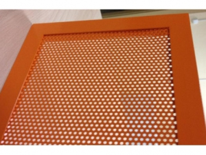 Перфорированная вентиляционная решетка РЭД-ПФ35