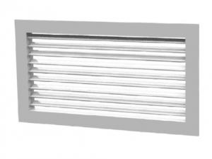 Решетки с фиксированными жалюзи РЭД-Р1-0° с КРВ