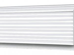 Решетки с фиксированными жалюзи РЭД-Р1-35°