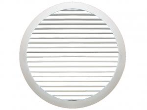 Настенные круглые решетки с нерегулируемыми жалюзи Airo-R1