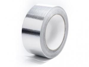 Алюминиевая клейкая лента (фольгированная)