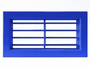 Настенные решетки с фиксированными жалюзи и узкой рамкой АЛН-К, АЛР-К