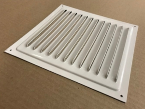 Решетка штампованная оцинкованная МЦ 200х200