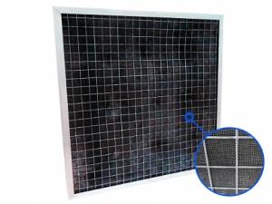 Угольный фильтр панельный насыпной