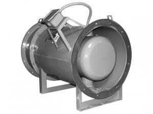 Осевой вентилятор дымоудаления ВОД-ДУ